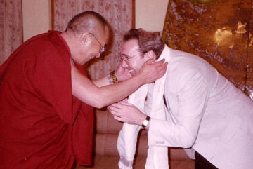 Graham Coleman and the Dalai Lama